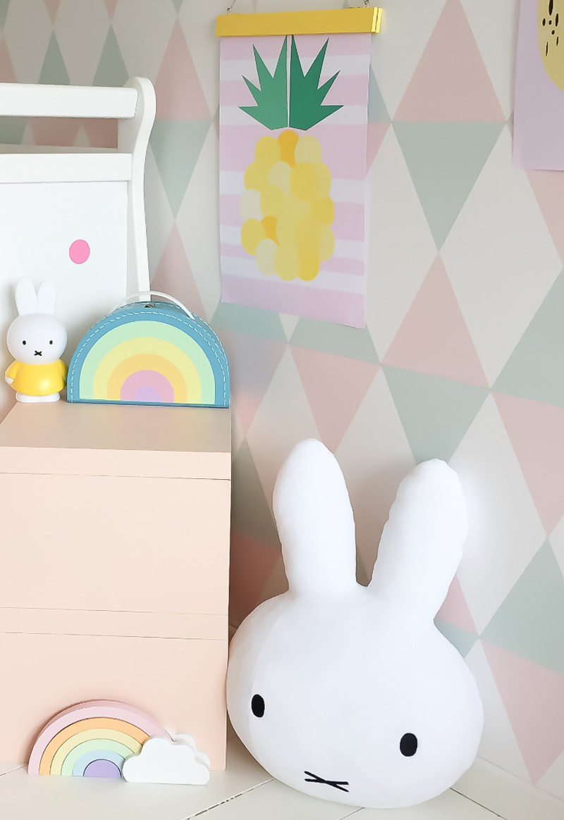 miffy pastel decor