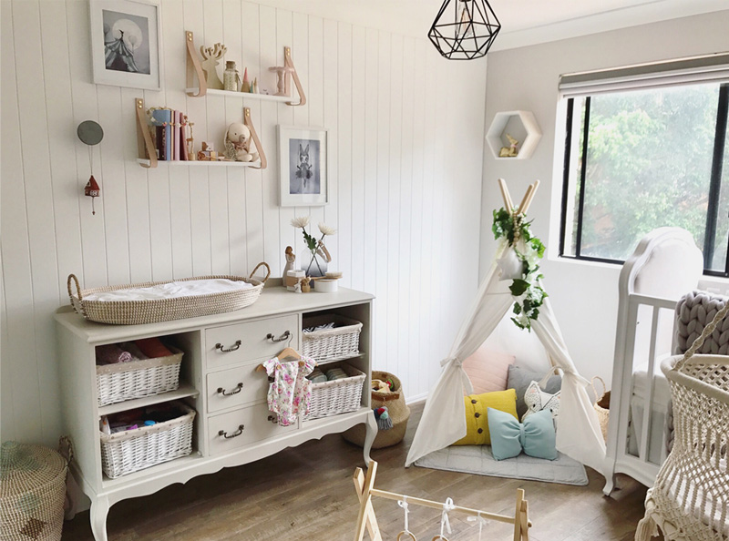 ROOMTOUR : ZARA ROSE'S BOHEMIAN AND FRENCH PROVINCIAL NURSERY