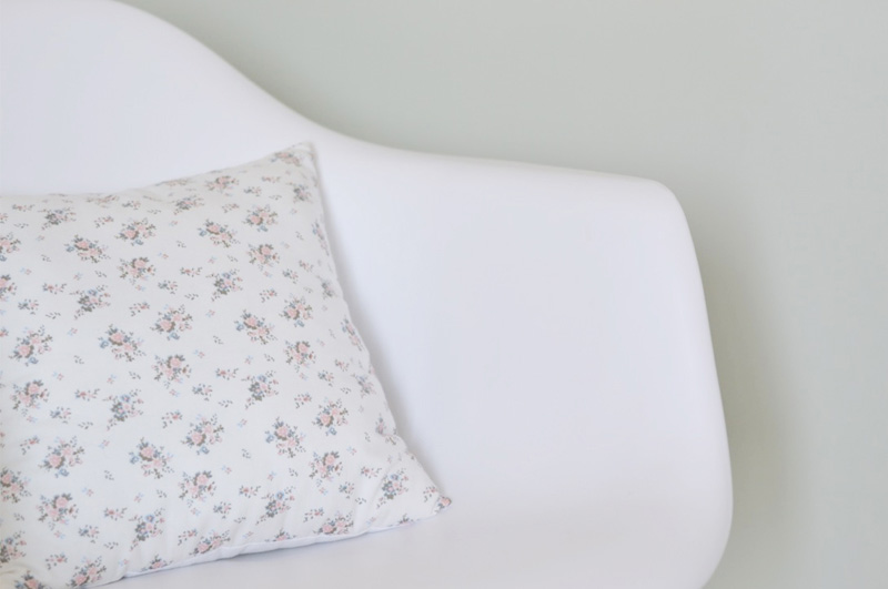 flowery cushion