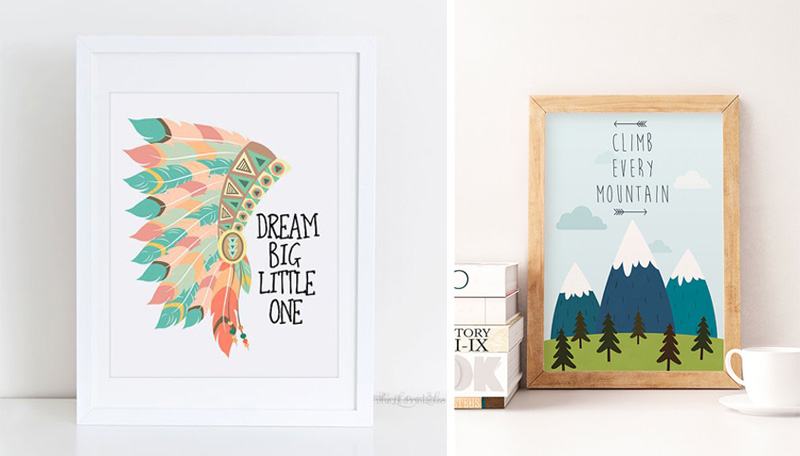 nursery posters quotes