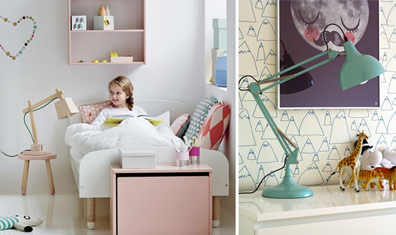 kids sidetable lamps
