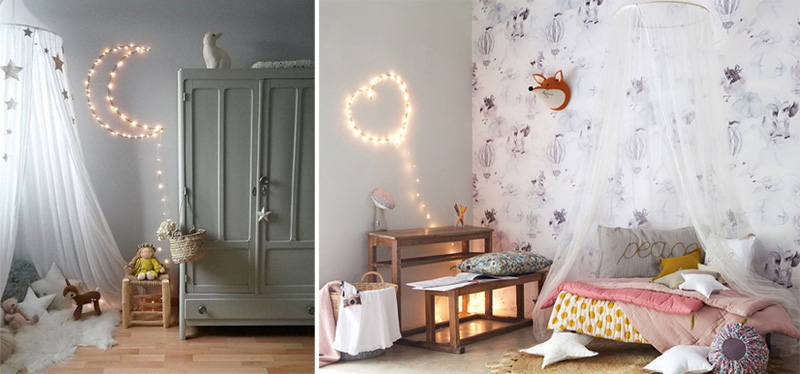 moon light kids room