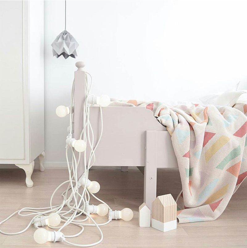 string light kids room