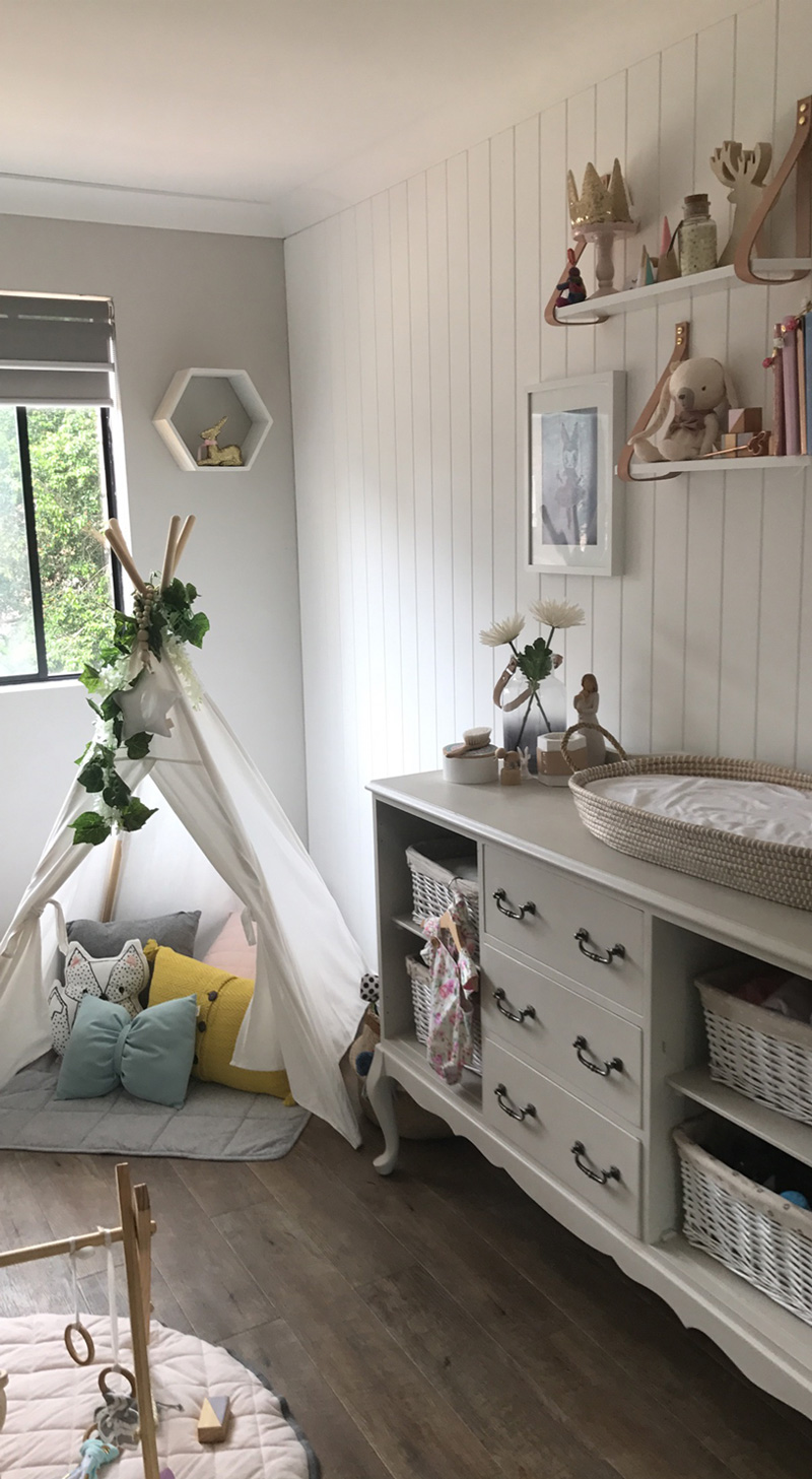 Bohemian French Provincial Style Nursery By Kids