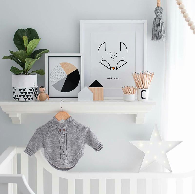 geometric poster nursery