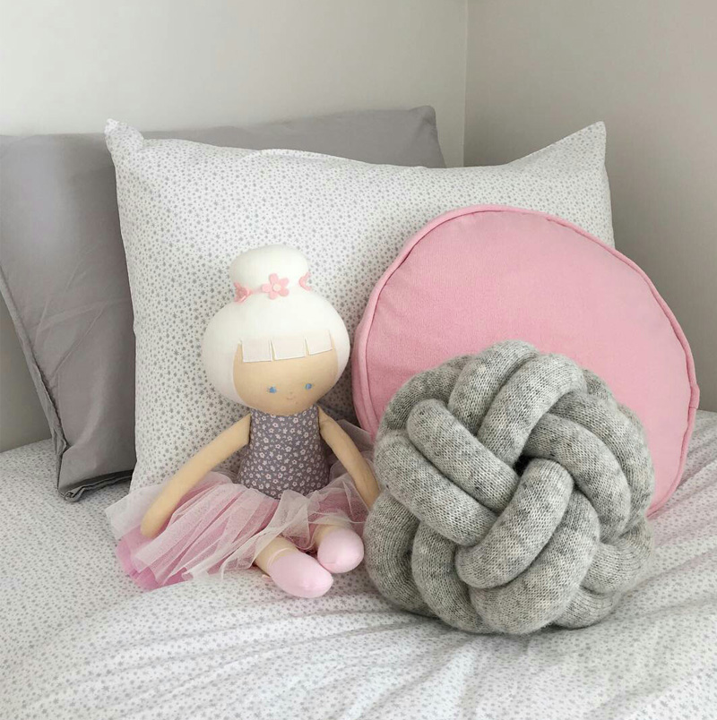 Cushions for Girls' Rooms- by Kids Interiors