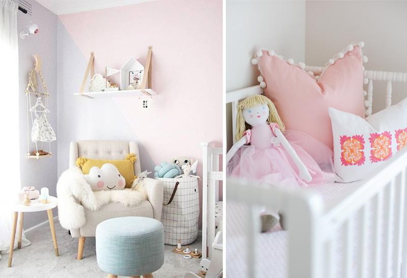 soft girls decor