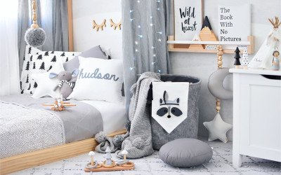 HUDSON'S NORDIC WILDERNESS INSPIRED BOY'S ROOM