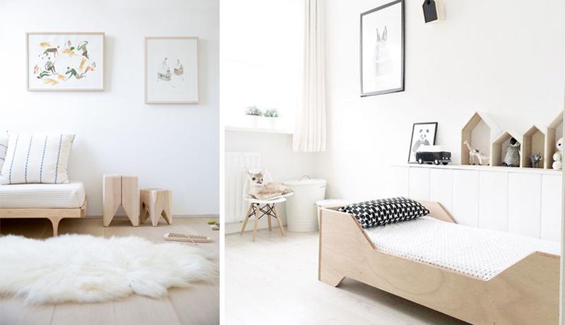 white beige kids rooms