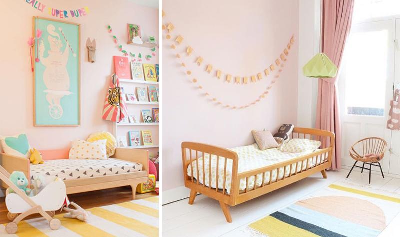 pink pastel girls rooms