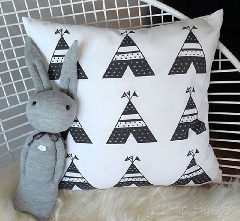 grey bunny plushtoy