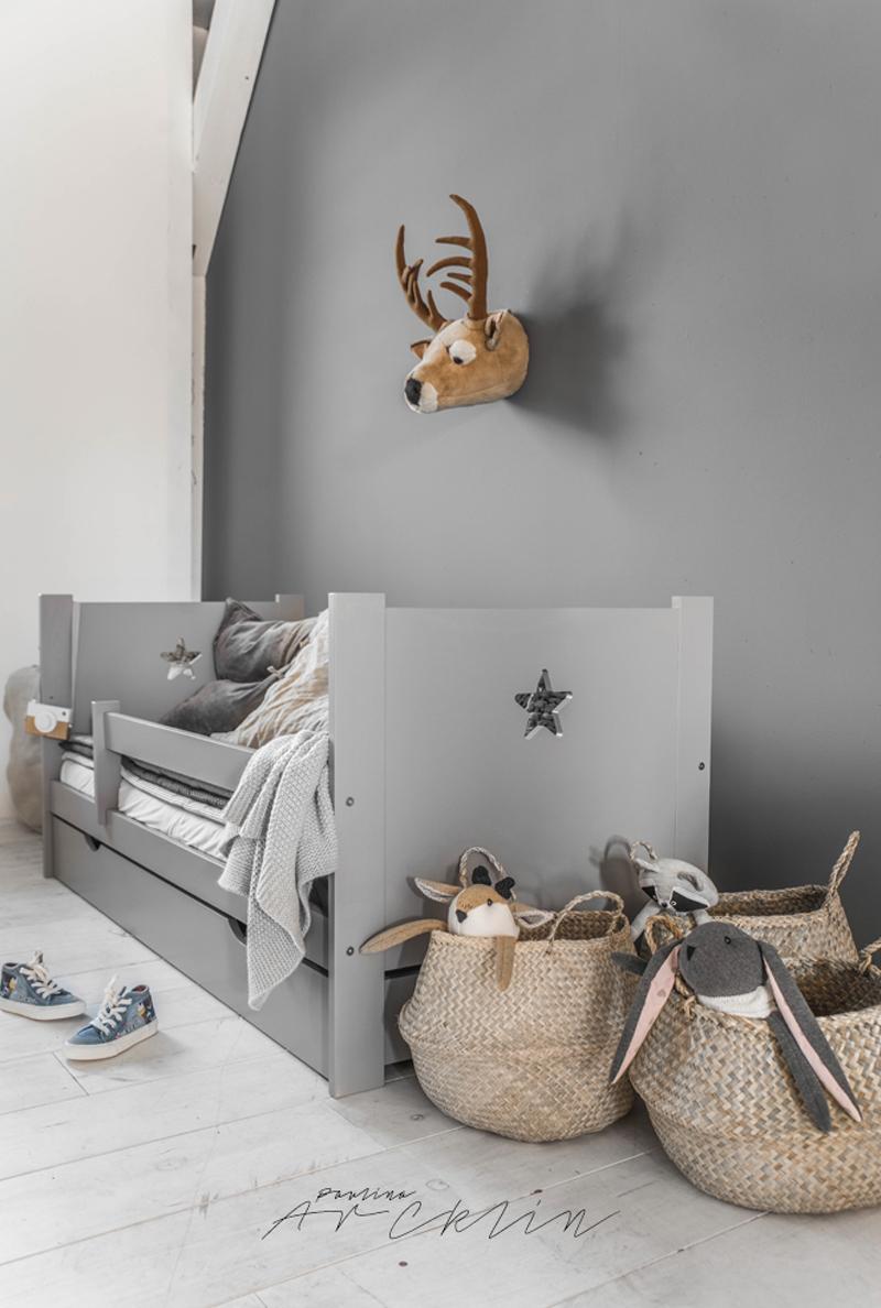 grey kids room