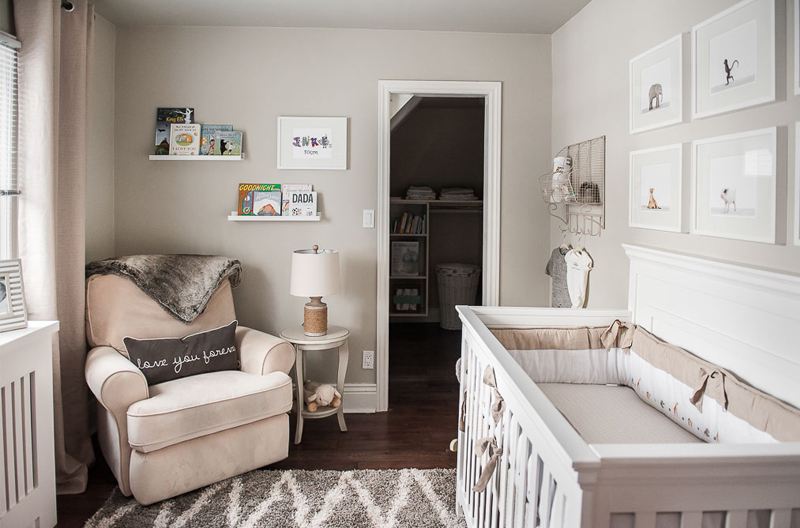 Grey Beige Nursery