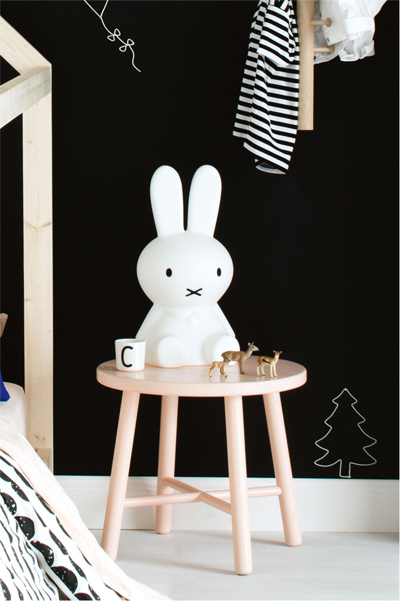 monochrome miffy