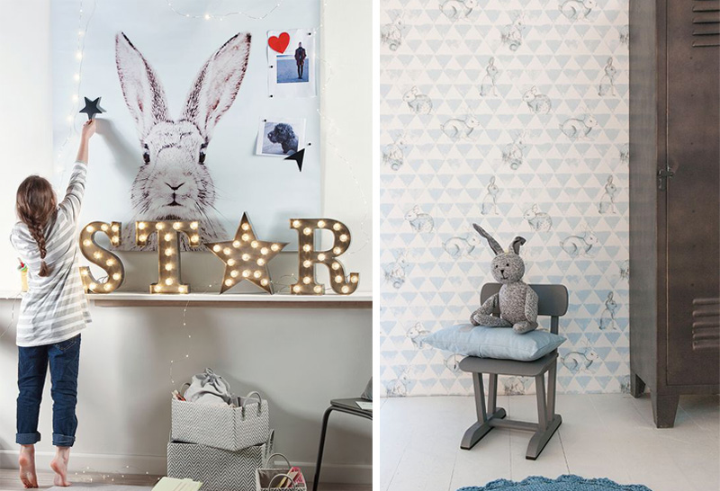 bunny kids decor