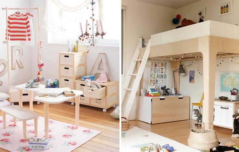 natural wood kids furniture