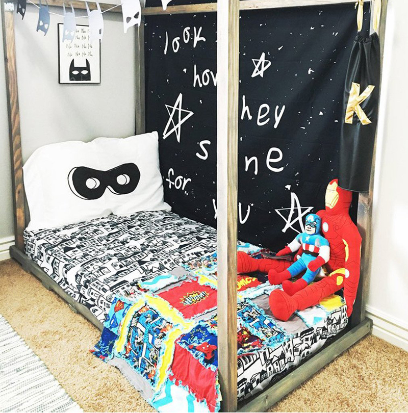 superhero pillowcase