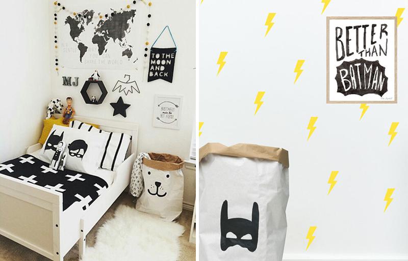 batman details childrens room