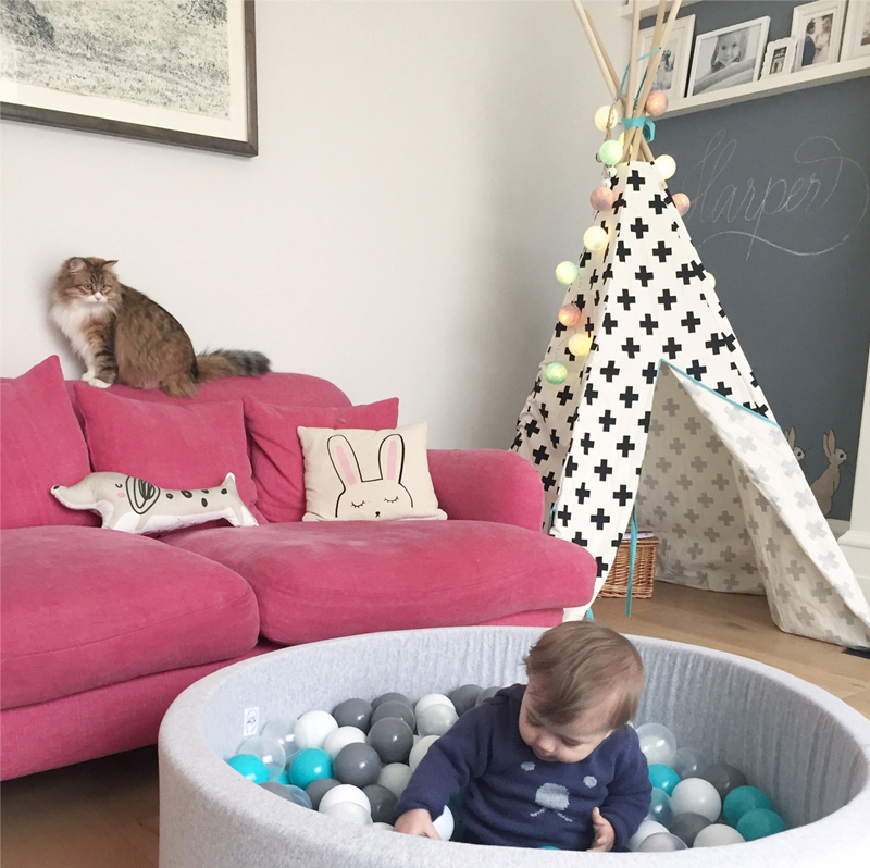 A shared playroom with a cosy feel - by Kids Interiors