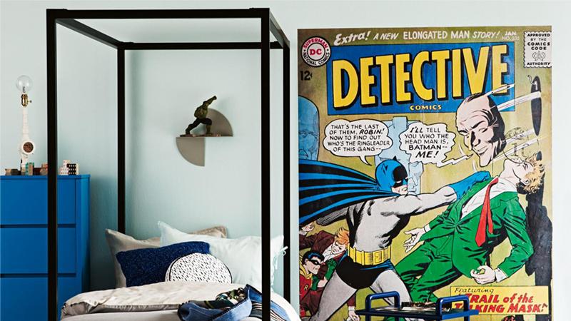 superman boys room