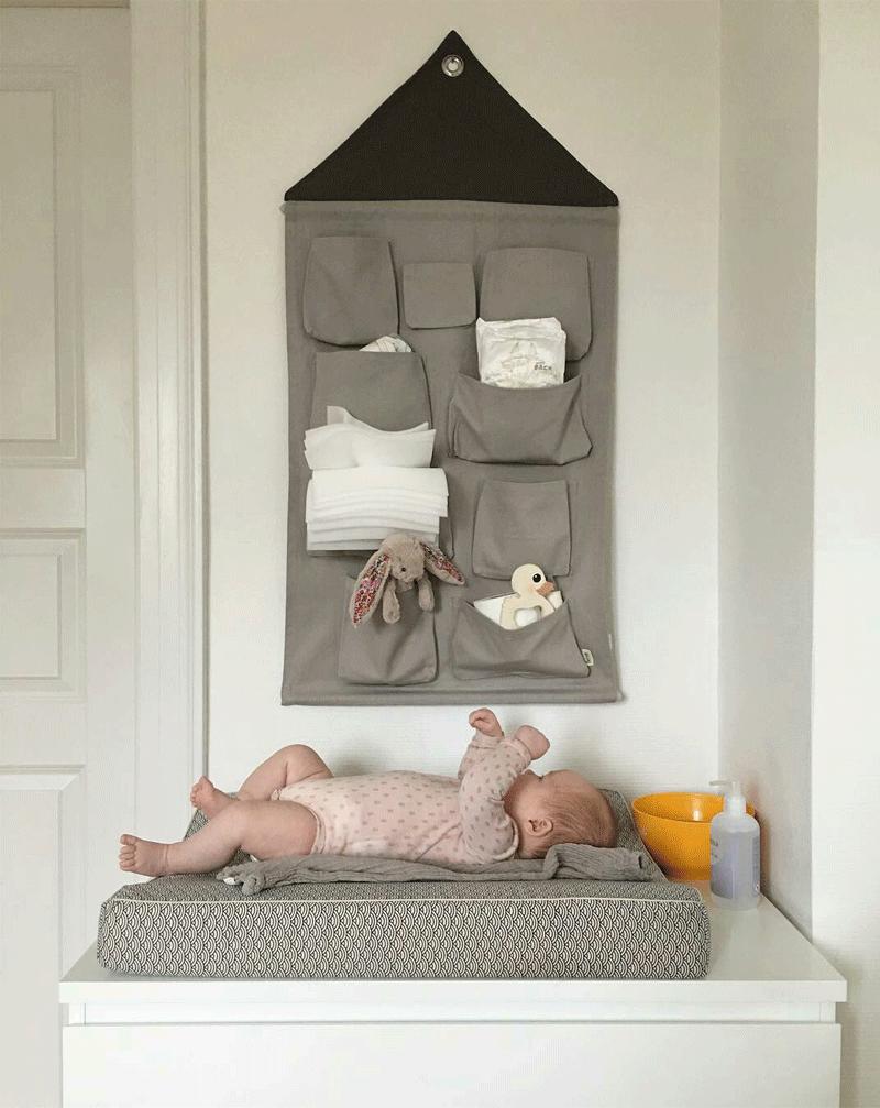 pocket storage for nursery