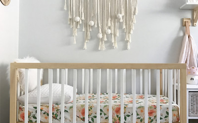 ROOMTOUR : ZARA'S NATURAL AND FLORAL NURSERY