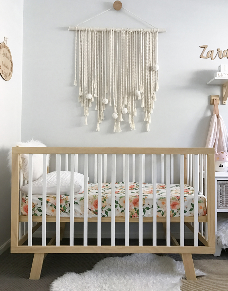 natural wall hanging nursery