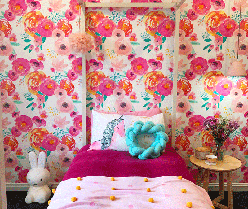 APRIL'S COLOURFUL AND FLORAL GIRL'S ROOM