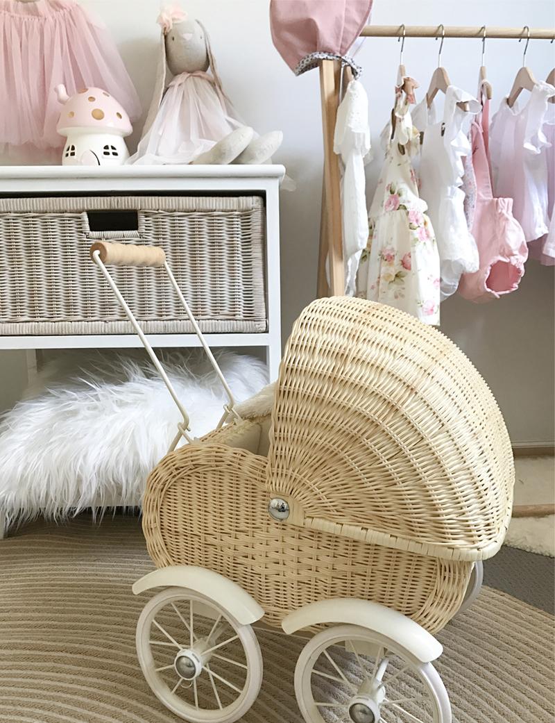 toy cane baby pram