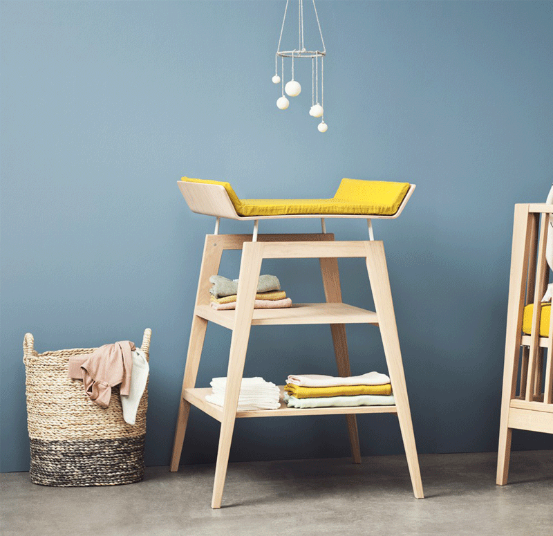 contemporary changing table