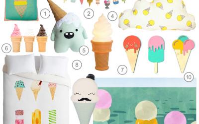 SHOPPING BY THEME : ICECREAMS