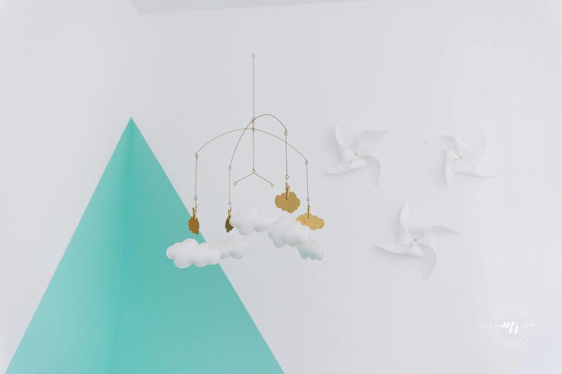 cloud nursery mobile