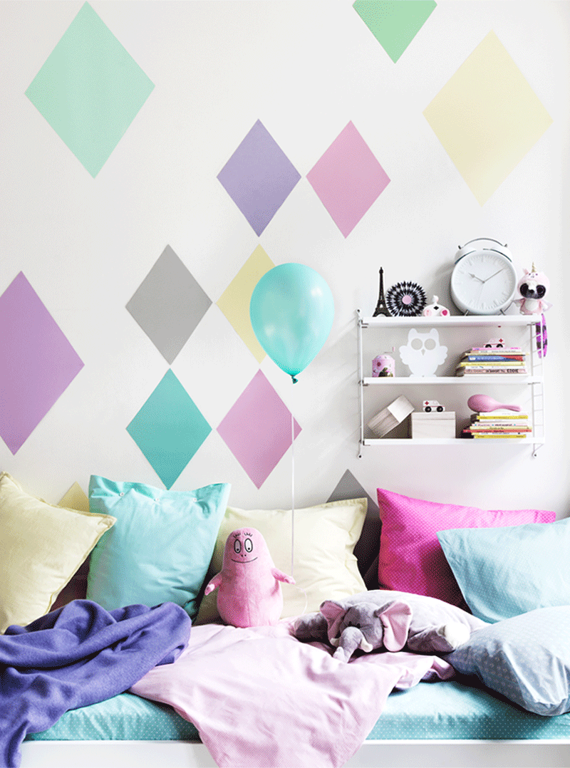 harlequin wall