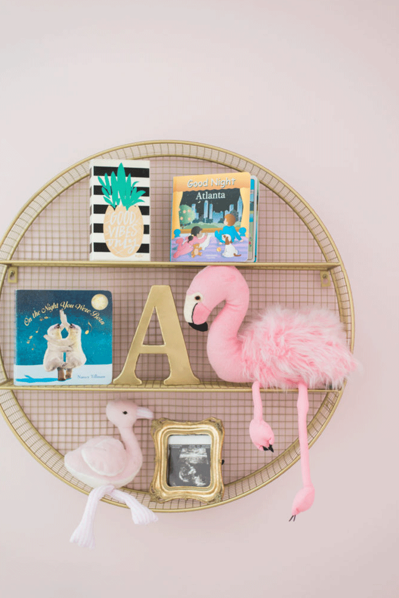 flamingo nursery