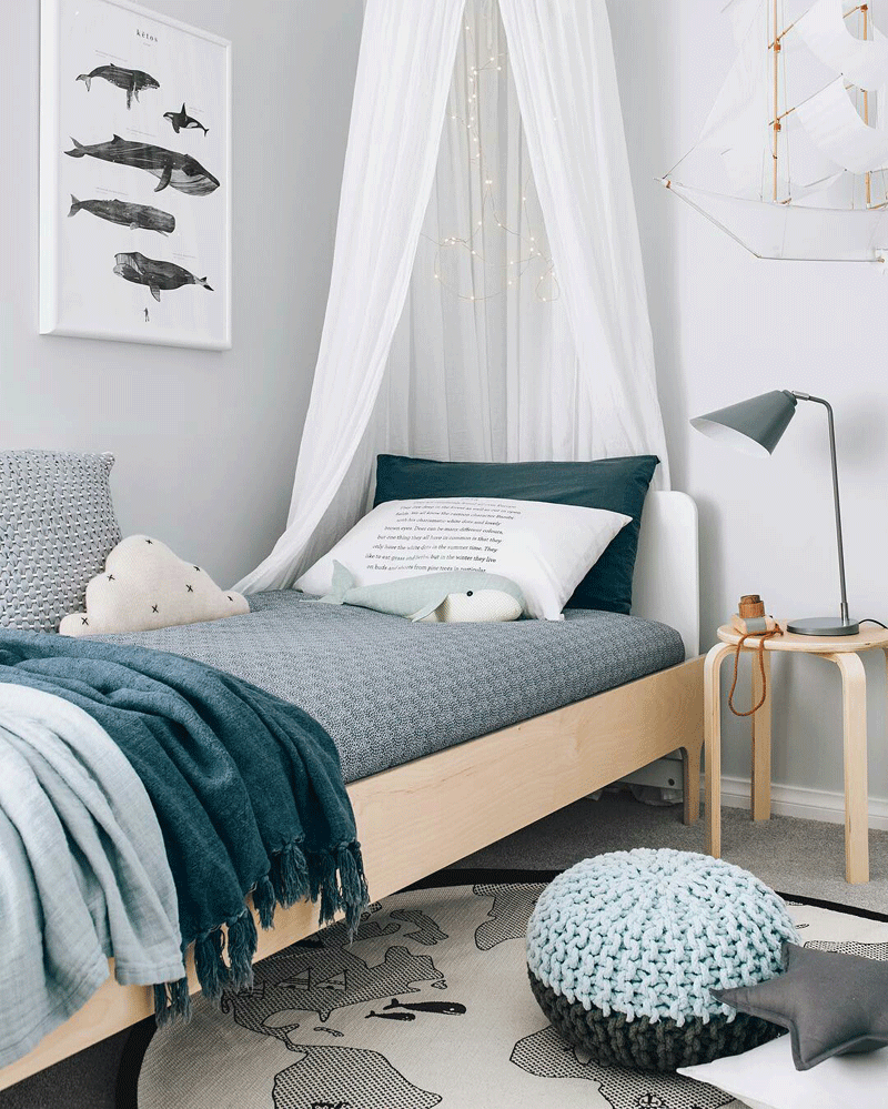 Ocean Bedroom Decorating Ideas: Ocean Inspired Kids' Rooms