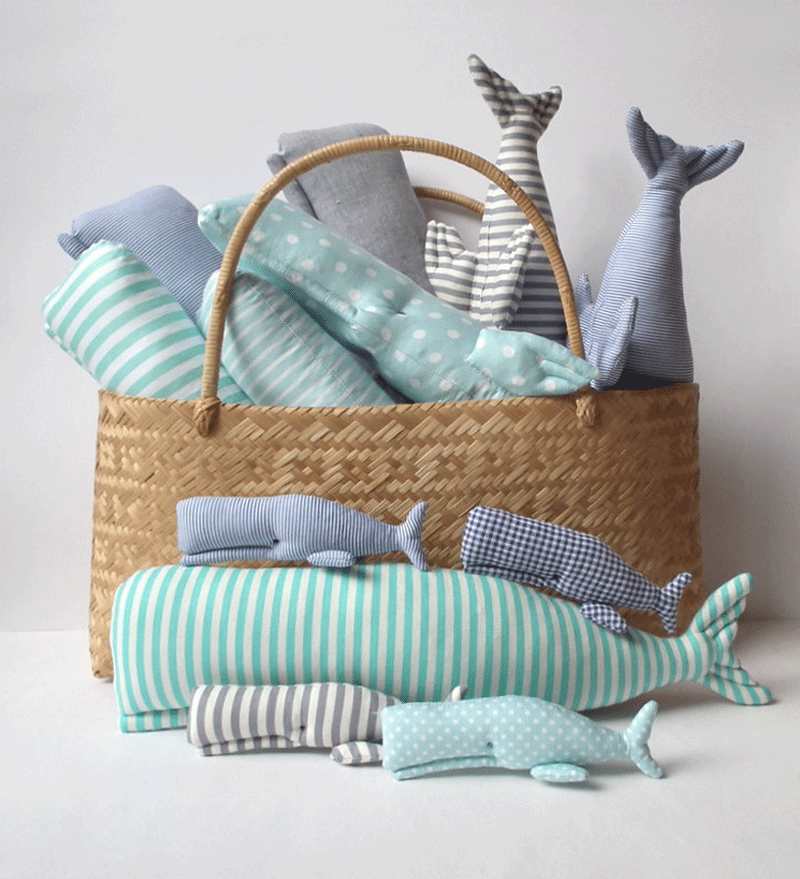 whale cuddly toys