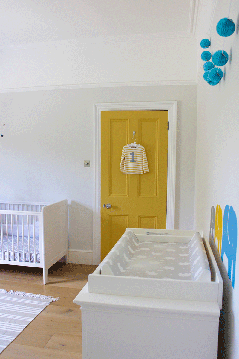 Sebastian\'s Light and Airy Nursery with Accents - Kids Interiors