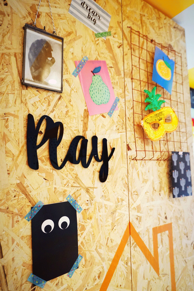 playroom wall ideas