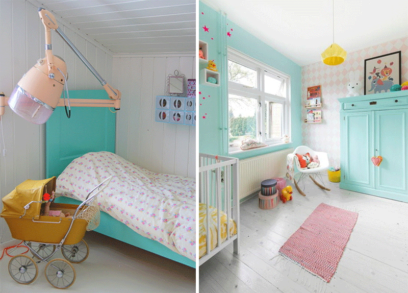 turquoise childrens rooms