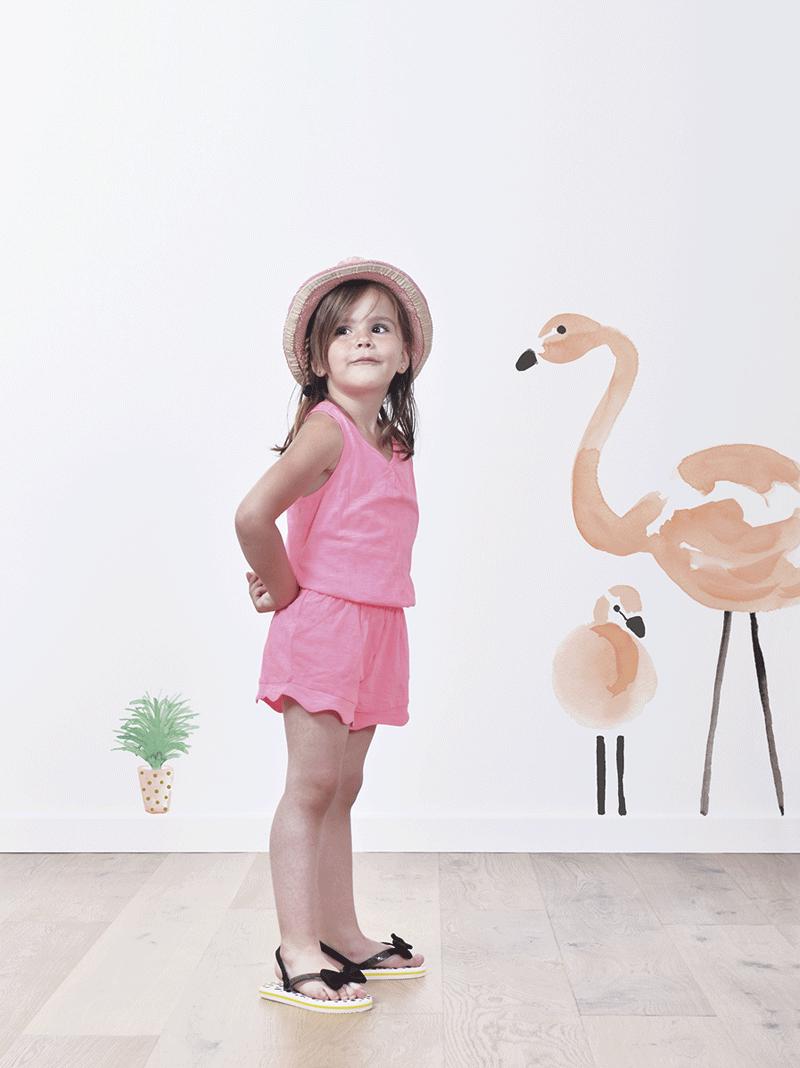 lilipinso flamingo sticker