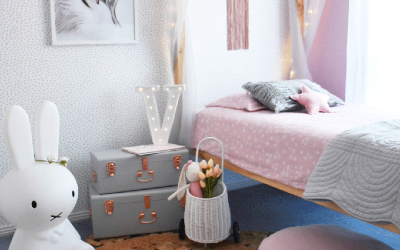 VICTORIA'S PRETTY AND GIRLY BEDROOM