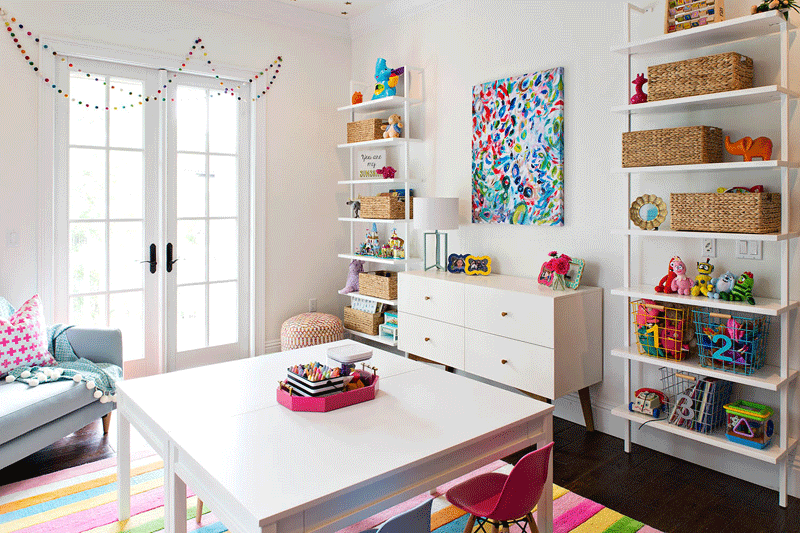 storage solutions playroom