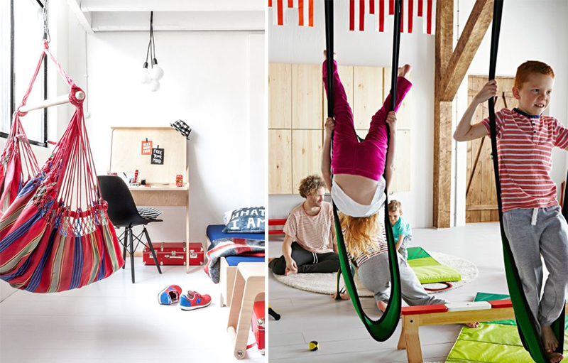 Swinging And Rocking In A Kids Room By Interiors