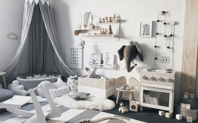 LOUIS' PLAYFUL SCANDINAVIAN STYLED TODDLER'S ROOM