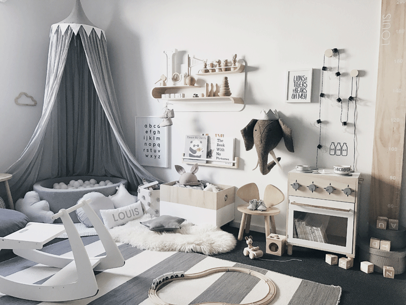 ROOMTOUR : LOUIS' PLAYFUL SCANDINAVIAN STYLED TODDLER'S ROOM