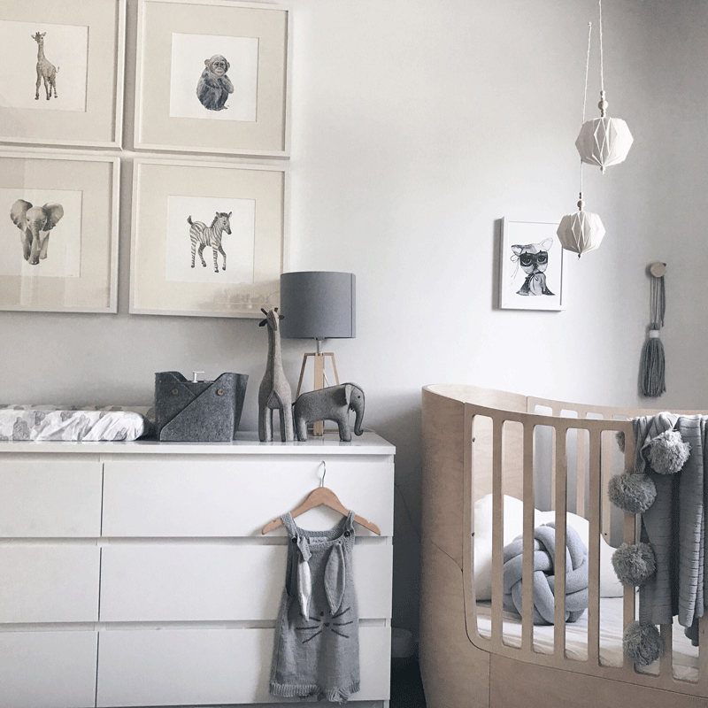 natural scandinavian nursery