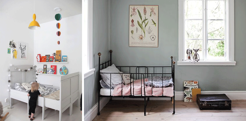 vintage evolutive kids beds