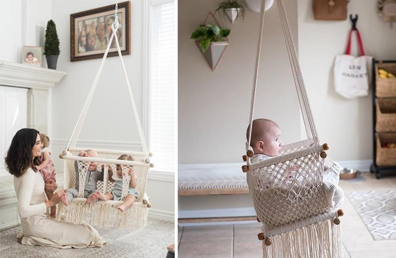 crochet swing baby