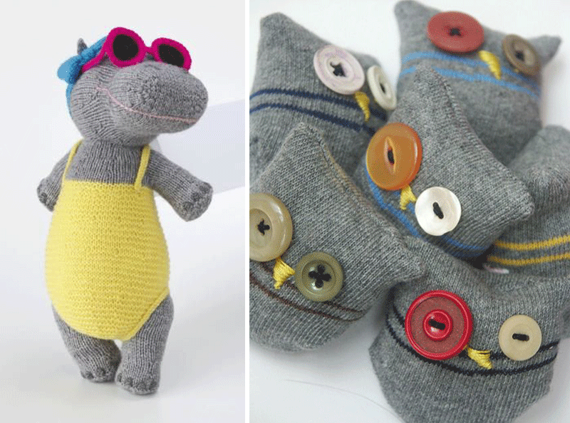 diy plushtoy with socks