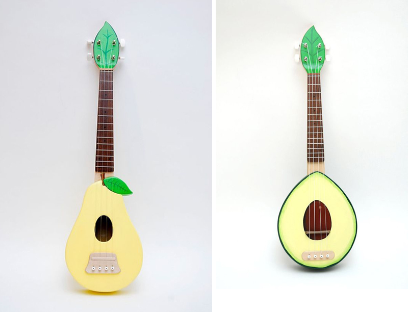 fruit guitar